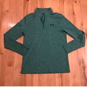 EUC Under Armour size small 1/4 zip shirt
